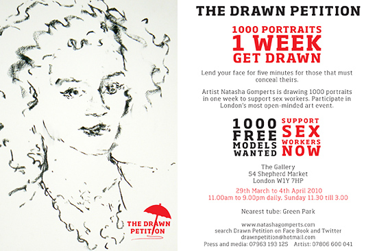 The Drawn Petition - flyer