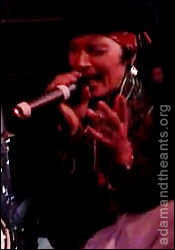 Adam Ant - Live with Zodiac Mindwarp