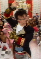 Adam Ant does the Prince Charming