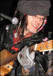 Adam Ant in Portsmouth May 2010
